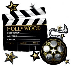 "Hollywood Supersize - 29"" Foil Balloon"