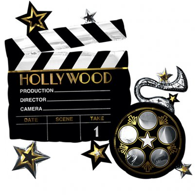 "Hollywood Supershape - 29"" Foil Balloon"