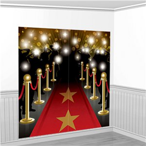 Hollywood Scene Setter Wall Decorating Kit - 1.7m