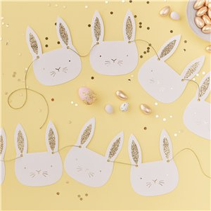 Carrot Crunch Easter Bunny Bunting - 2m