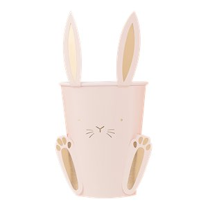 Carrot Crunch Easter Paper Cups - 255ml