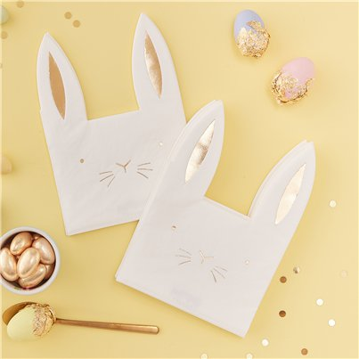 Carrot Crunch Easter Paper Napkins - 22cm