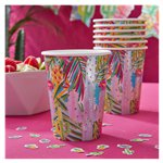 Hot Summer Paper Party Cups - 255ml