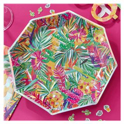 Hot Summer Plates - 23cm Paper Party Plates