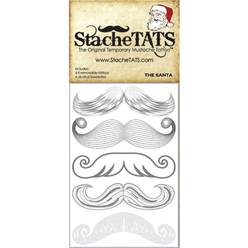 Moustache Tattoo Pack - Santa