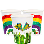 Hungry Caterpillar Cups - 250ml Paper Party Cups