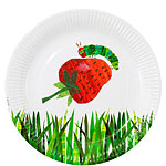 Hungry Caterpillar Plates - 23cm Paper Party Plates