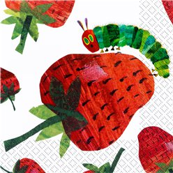 Hungry Caterpillar Napkins - 3ply Paper