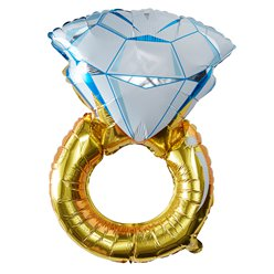 "I Do Crew Ring Balloon - 36"" Foil"