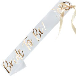 I Do Crew 'Bride To Be!' Sash - 75cm