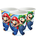 Super Mario Cups - 266ml Paper Party Cups