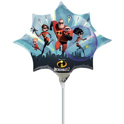 The Incredibles 2 Mini Airfilled Balloon - 9