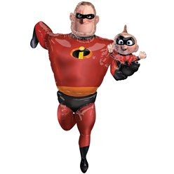 Mr Incredible Airwalker Balloon - 1.7m Foil