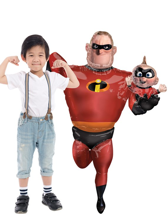 "Mr Incredible Airwalker Balloon - 67"" Foil"