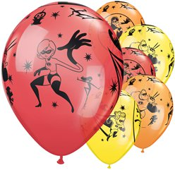 "The Incredibles Balloons - 11"" Latex"