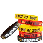 The Incredibles 2 Rubber Bracelets