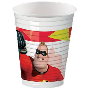 The Incredibles Plastic Cups - 200ml