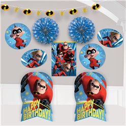 The Incredibles 2 Room Decorating Kit