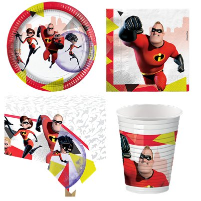 Incredibles 2 Party Pack - Value Pack For 8