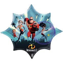 The Incredibles 2 SuperShape Foil Balloon - 35""