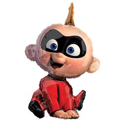 "The Incredibles Jack Jack Supershape - 22"" x 32"" Foil Balloon"