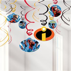 The Incredibles 2 Hanging Swirls