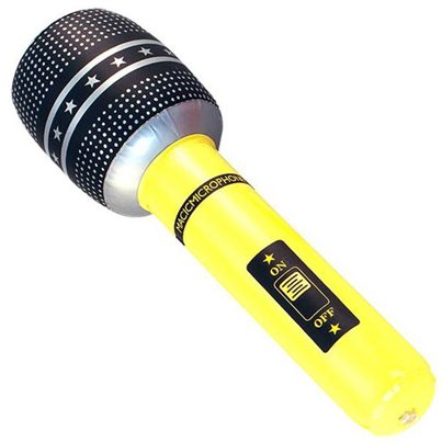 Inflatable Giant Microphone - 40cm
