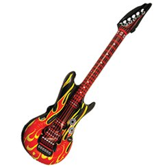 Inflatable Flame Guitar - 1.06m