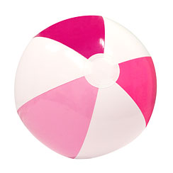 Inflatable Pink Beach Ball - 33cm