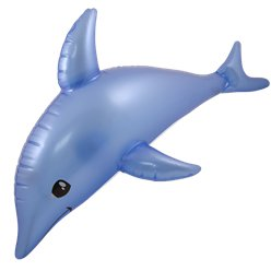 Inflatable Dolphin - 53cm (Inflatables)