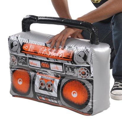 Inflatable Boom Box front