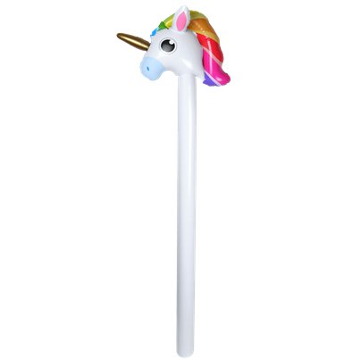 Inflatable Unicorn Stick - 110cm