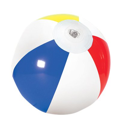 Mini Inflatable Beach Ball - 17cm