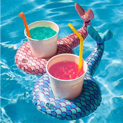 Inflatable Mermaid Tail Beverage Boats  - Drink Floats
