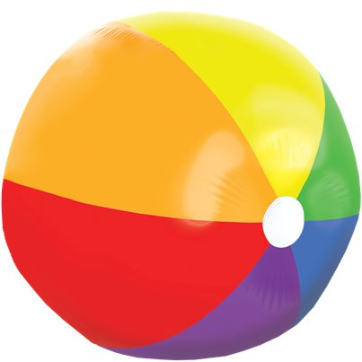 Giant Inflatable Beach Ball - 1.2m