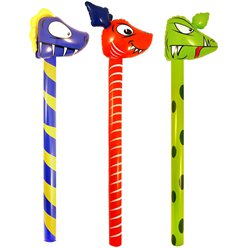 Inflatable Dinosaur Stick - 118cm