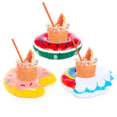 Inflatable Drinks Holders Assorted