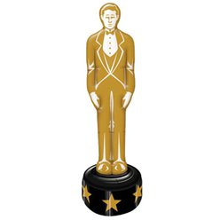 Hollywood Inflatable Gold Statue - 4ft 7''