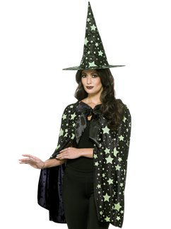 Midnight Witch Cape and Hat