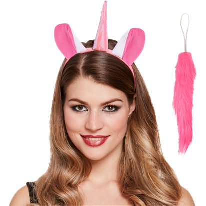 Unicorn Accessory Kit - Women's Fancy Dress Costume Accessories - Adults One Size left