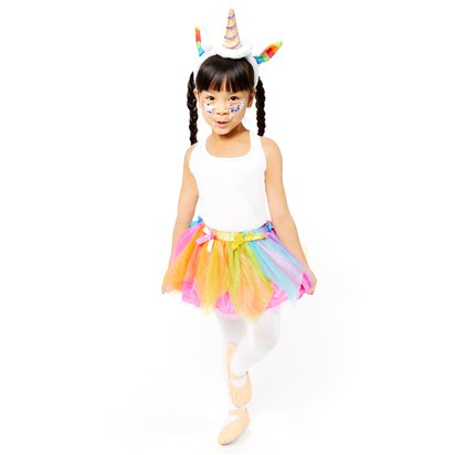 Mythical Unicorn Accessory Kit - Girl's Fancy Dress Costume Accessories - Kids One Size front