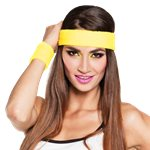 Yellow Sweatband Accessory Kit