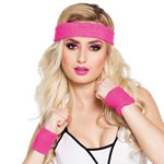 Pink Sweatbands