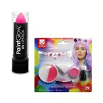 Unicorn Face Gem & Lipstick Kit