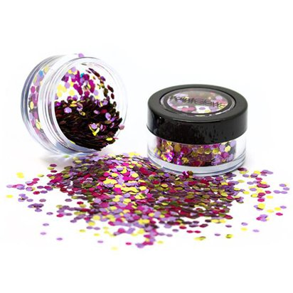 Heart Breaker Glitter & Lipstick Kit - Glitter Makeup Kit back