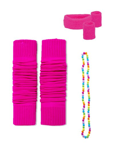 Totally 80's Pink Accessory Kit