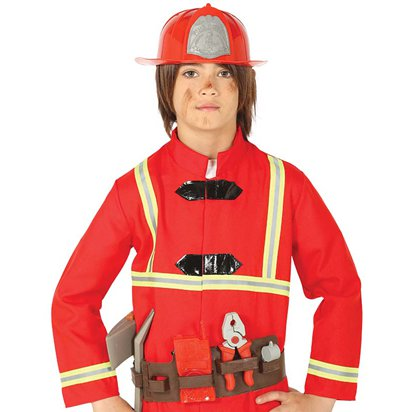 Fireman Accessory Kit - Fancy Dress Costume Accessories front
