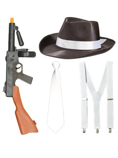 Gangster Fancy Dress Kit