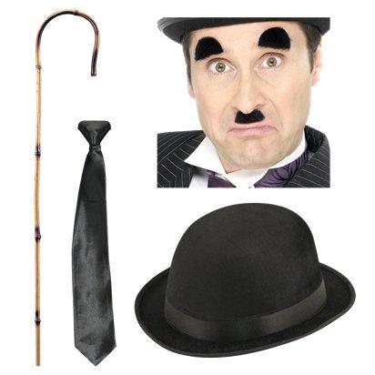3cb8fd44b3141 Charlie Chaplin Fancy Dress Kit