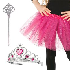Pink Princess Fancy Dress Accessory Kit